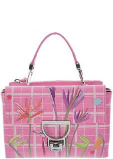 Кожаная сумка с двумя отделами Arlettis Coccinelle
