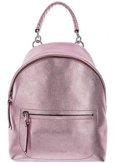 Рюкзак из мягкой кожи с одним отделом на молнии Leonie Coccinelle