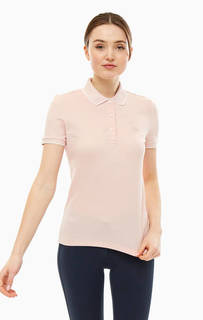 Хлопковая футболка поло с короткими рукавами Lacoste