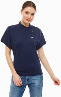 Хлопковая футболка поло оригинального кроя Lacoste