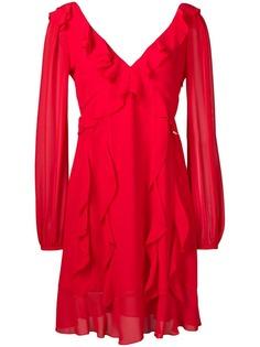 Liu Jo платье миди с оборками