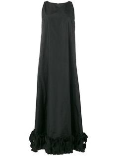 Max Mara длинное расклешенное платье