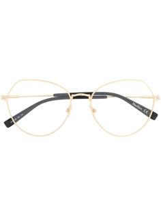 Max Mara очки в шестиугольной оправе