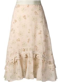 Coach асимметричная юбка Disney