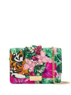 Gedebe сумка Cliky Tiger с цветочным принтом