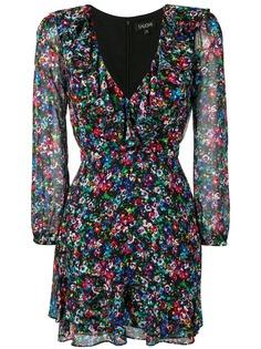 Saloni платье мини с цветочным принтом