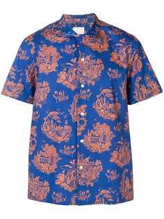 Wood Wood рубашка с короткими рукавами и принтом