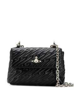 Vivienne Westwood стеганая сумка на плечо с ремнем-цепочкой