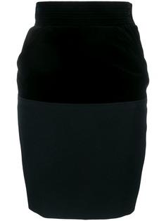 Yves Saint Laurent Vintage юбка-карандаш 1980-х годов