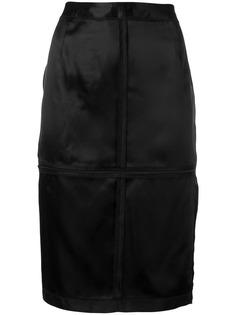 Mm6 Maison Margiela юбка-карандаш на молнии