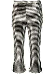 Comme Des Garçons Vintage брюки в клетку гингем