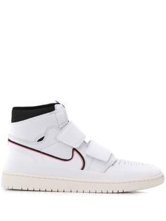 Nike высокие кроссовки Air Jordan 1 с двумя ремешками