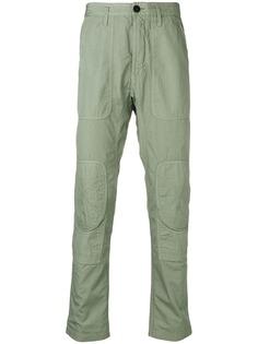 Stone Island брюки с нашивками