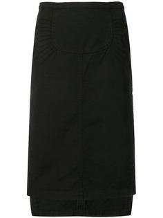 Nº21 юбка миди асимметричного кроя