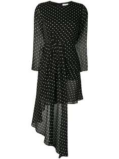 Jovonna polka dot asymmetric dress