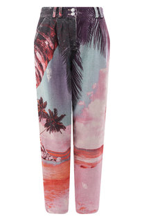 Льняные брюки Balmain