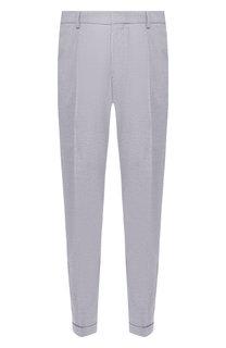 Хлопковые брюки BOSS
