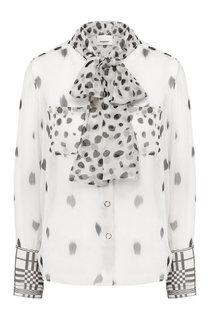 Шелковая блузка Burberry