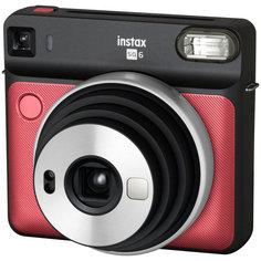 Фотоаппарат моментальной печати Fujifilm INSTAX SQ 6 RUBY RED EX D