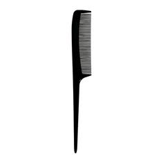 Гребень для волос LADY PINK BASIC black с ручкой