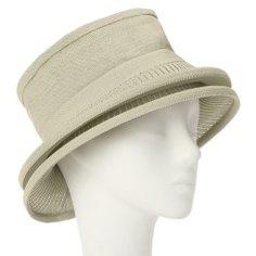 Шляпа CELINE ROBERT CLARINE зелено-бежевый