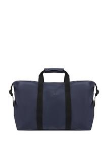 Большая синяя сумка Rains