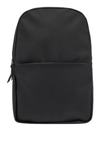 Черный непромокаемый рюкзак Rains