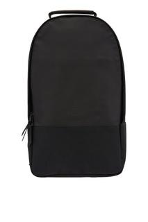 Черный рюкзак из непромокаемой ткани Rains