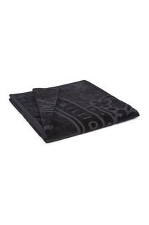 Черное полотенце с эмблемой Billionaire