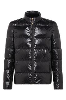 Черная стеганая куртка Billionaire