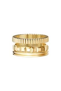 Кольцо QUATRE RADIANT EDITION из желтого золота Boucheron