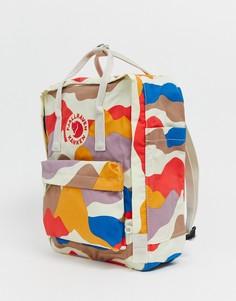 Рюкзак с камуфляжным принтом Fjallraven Kanken - Мульти