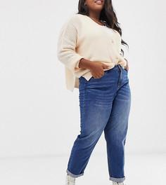 Джинсы в винтажном стиле с завышенной талией Urban Bliss Plus - Синий