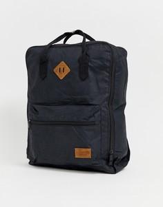 Черный рюкзак с ручками Pull&Bear - Черный