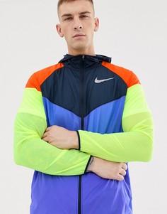 Ветровка в стиле колор блок Nike Running - Мульти