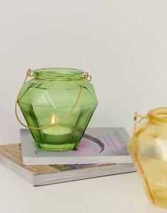 Зеленый подсвечник для чайных свечей Chickidee - Зеленый