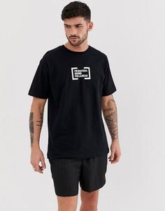 Черная футболка Pull&Bear X Primavera Sound - Черный