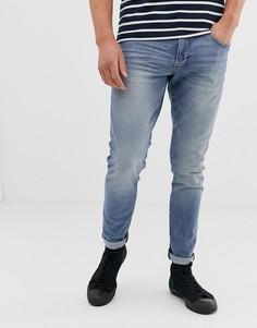 Синие джинсы скинни Esprit - Синий
