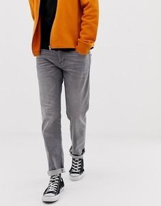 Выбеленные серые джинсы прямого кроя Esprit - Серый