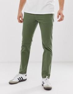 Зеленые чиносы слим Esprit - Зеленый