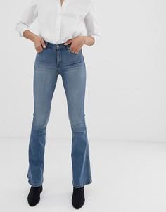 Расклешенные джинсы с классической талией Dr Denim Macy - Синий