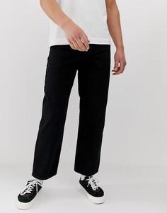 Черные широкие джинсы Pull&Bear - Черный