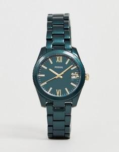 Темно-синие женские часы Fossil ES4408 - Темно-синий