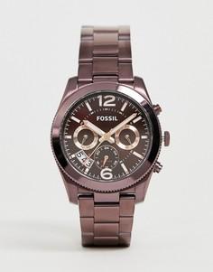 Фиолетовые женские часы Fossil - ES4110 - Фиолетовый