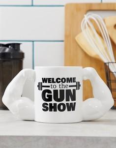 Кружка Big Mouth The Gun Show - Белый
