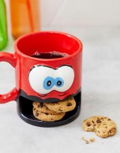 Кружка с отделением для печенья Big Mouth - Красный