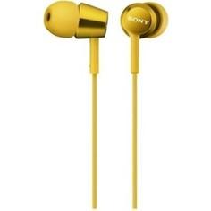Наушники Sony MDR-EX150 yellow