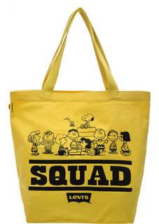 Желтая хлопковая сумка Levis® X Peanuts®