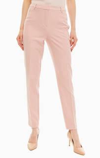 Розовые брюки чиносы с карманами Comma,
