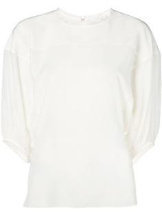 Chloé блузка с рукавами три четверти
